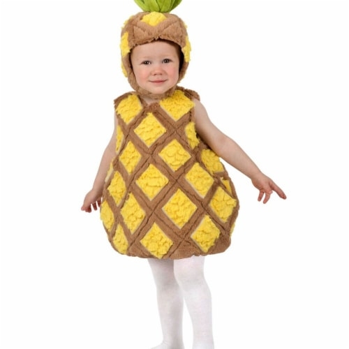 Princess Paradise 277934 Halloween Toddler Tropical Pineapple Costume - 6-12 Month Perspective: front