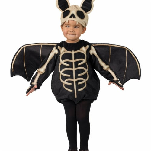 Princess Paradise 278024 Halloween Toddler Skele-Bat Costume - 12-18 Month Perspective: front