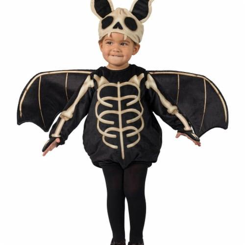 Princess Paradise 278025 Halloween Toddler Skele-Bat Costume - 18M-2T Perspective: front