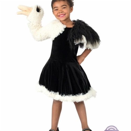 Princess Paradise 278150 Halloween Girls Playful Puppet Ostrich Costume - Small Perspective: front