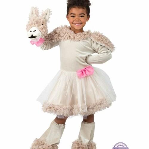 Princess Paradise 278155 Halloween Girls Playful Puppet Llama Costume - Medium Perspective: front
