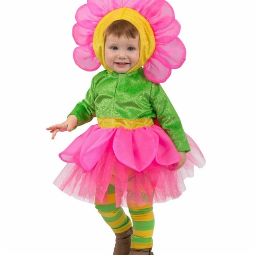 Princess Paradise 278016 Halloween Toddler Bright Flower Costume - 18M-2T Perspective: front