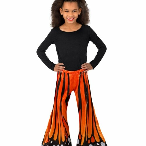 Princess Paradise 277910 Halloween Girls Monarch Butterfly Pants Costume - Medium & Large Perspective: front