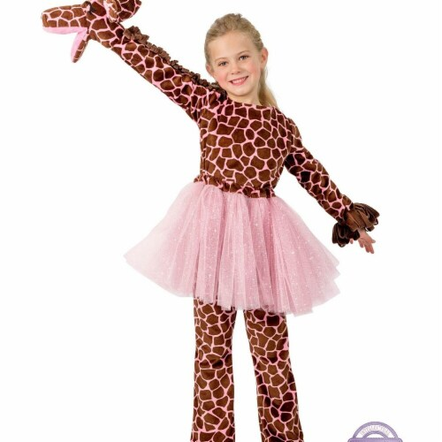 Princess Paradise 278154 Halloween Girls Playful Puppet Giraffe Costume - Extra Small Perspective: front