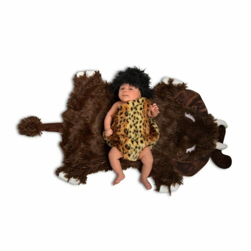 Princess Paradise 277893 Halloween Baby Swaddle Wings Caveman Costume - 0-3 Month Perspective: front