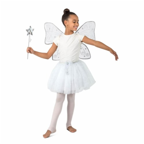 Princess Paradise 277855 Halloween Girls Twinkle The Glitter Fairy Costume - Medium & Large Perspective: front