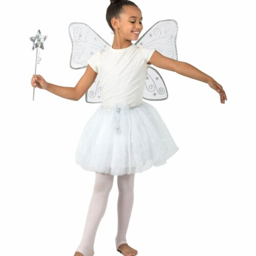 Princess Paradise 277856 Halloween Girls Twinkle The Glitter Fairy Costume - Extra Large Perspective: front