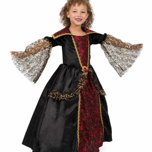 Princess Paradise 277871 Halloween Girls Versailles Vampiress Costume - Medium Perspective: front