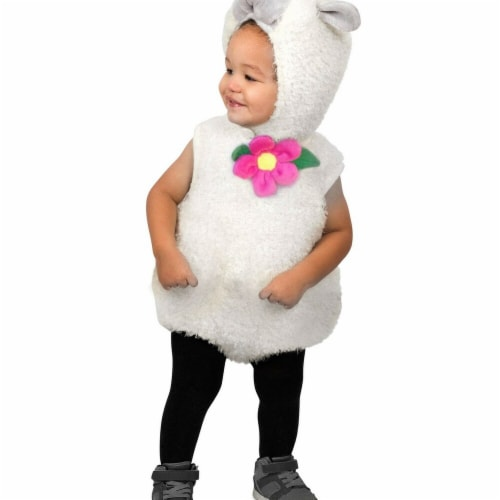 Princess Paradise 278032 Halloween Toddler Furry Lamb Costume - 12 Month Perspective: front