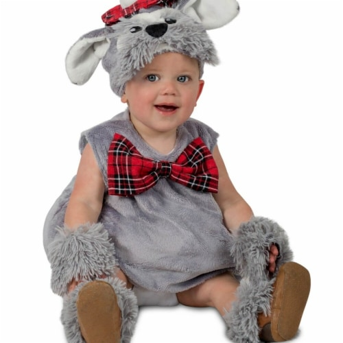 Princess Paradise 278134 Halloween Toddler Angus The Scottie Dog Costume - 6-12 Month Perspective: front