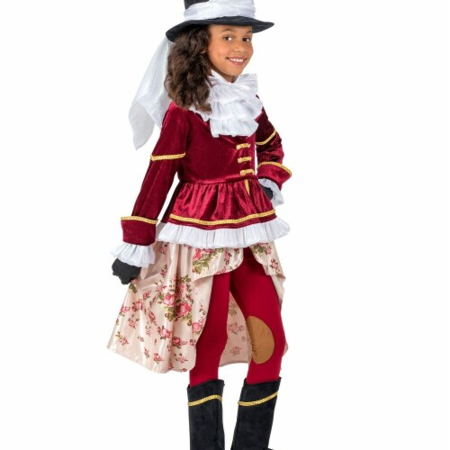 Princess Paradise 277942 Halloween Girls Colonial Equestrienne Costume - Medium Perspective: front