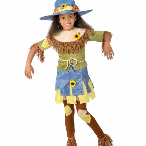 Princess Paradise 277981 Halloween Girls Selena The Scarecrow Costume - Medium Perspective: front