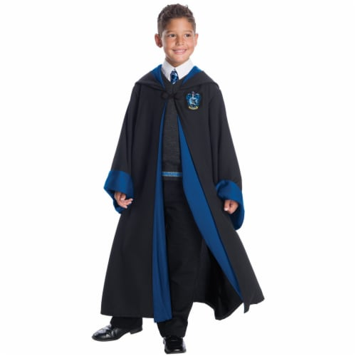 Morris CH03583CMD Childs Deluxe Ravenclaw Costume Set - Size 8-10 Medium Perspective: front