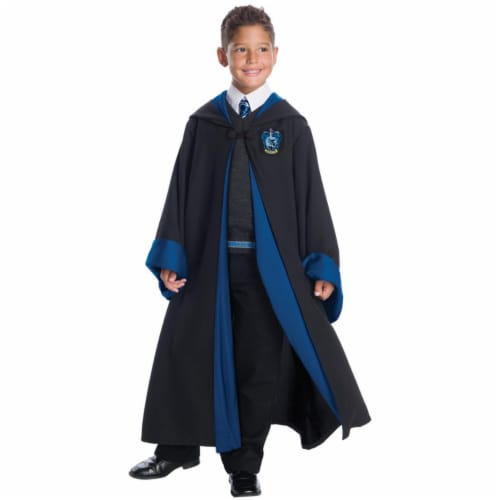 Morris CH03583CSM Childs Deluxe Ravenclaw Costume Set - Size 4-6 Small Perspective: front