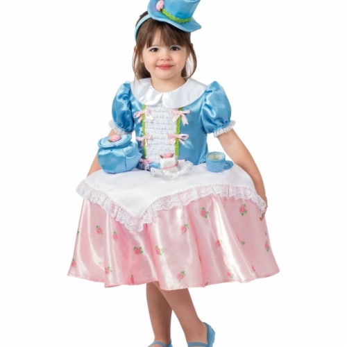 Princess 409976 Girls Tea Party Table Top Child Costume - Extra Small Perspective: front