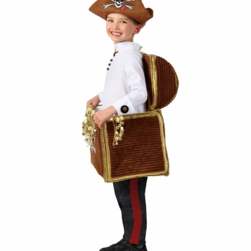 Princess 410000 Child Candy Catchers Pirates Booty Costume - Extra Small Perspective: front