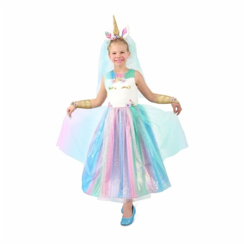 Princess 410082 Girls Lovely Lady Unicorn Child Costume - Extra Small Perspective: front