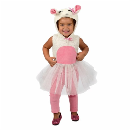 Princess 407623 Girls Liza Lamb Child Costume - Infant Perspective: front