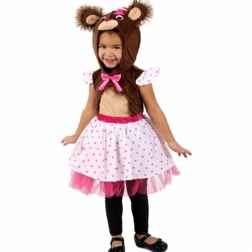 Princess 407671 Girls Belinda Bear Child Costume - Extra Small Perspective: front