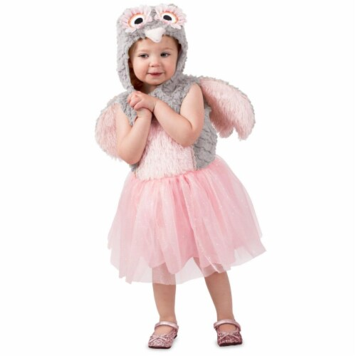 Princess 407651 Girls Odette the Owl Child Costume - Toddler Perspective: front