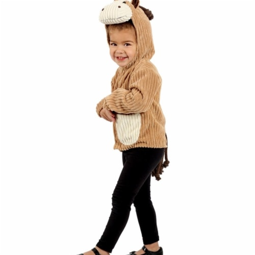 Princess 407628 Child Horse Jacket Costume - Medium & Large Perspective: front