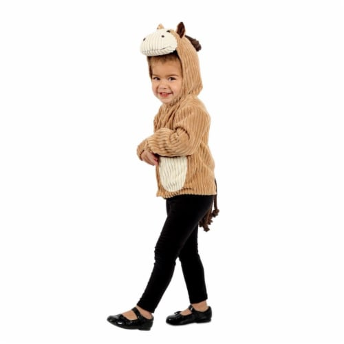 Princess 407627 Child Horse Jacket Costume - NS Perspective: front