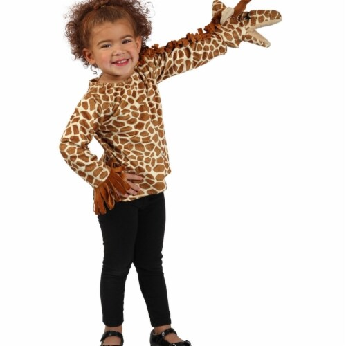 Princess 407643 Girls Puppet Pals Giraffe Jacket - Extra Small & Small Perspective: front