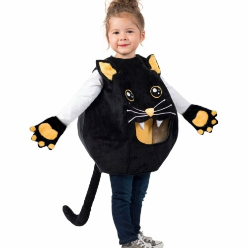 Princess 410019 Girls Feed Me Kitty Child Costume - Medium & Large Perspective: front