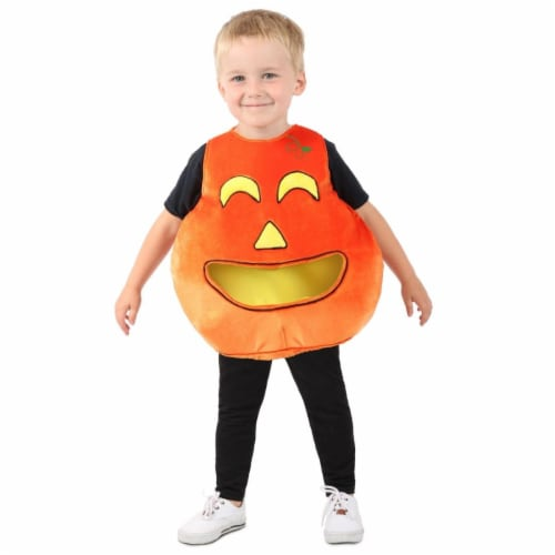 Princess 407612 Child Feed Me Pumpkin Costume - NS Perspective: front