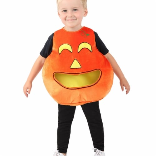 Princess 407614 Child Feed Me Pumpkin Costume - Extra Small & Small Perspective: front