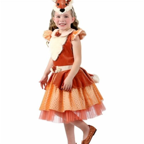 Princess Paradise 410072 Girls Peace the Pretty Fox Costume, Extra Small Perspective: front