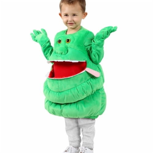 Princess 410371 Feed Me Ghostbusters Slimer Child Costume - Medium & Large Perspective: front