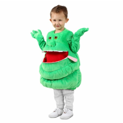 Princess 410372 Feed Me Ghostbusters Slimer Child Costume - Extra Small & Small Perspective: front