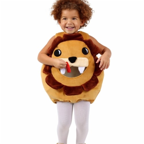 Princess 407581 Child Feed Me Lion Costume - Medium & Large Perspective: front
