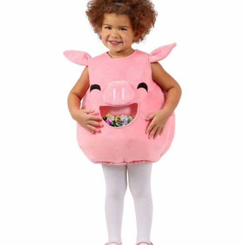 Princess 407586 Child Feed Me Piggy Costume - NS Perspective: front