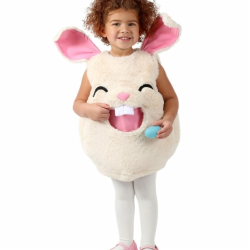 Princess 407606 Girls Feed Me Bunny Child Costume - Medium & Large Perspective: front