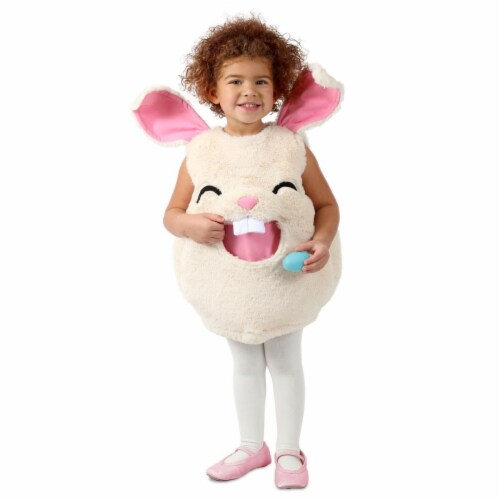 Princess 407607 Girls Feed Me Bunny Child Costume - Extra Small & Small Perspective: front