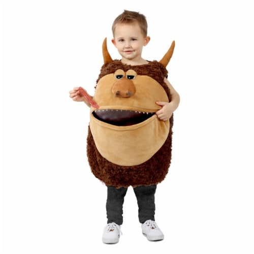 Princess 410126 Boys Feed Me Wild Man Child Costume - NS Perspective: front