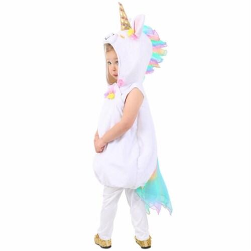 Princess 407734 Girls Pastel Unicorn Child Costume - Toddler Perspective: front