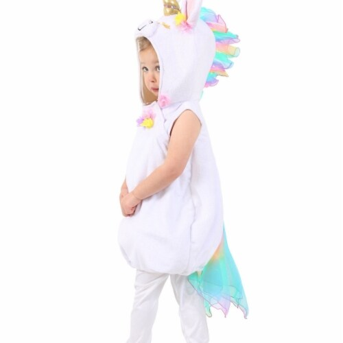 Princess 407738 Girls Pastel Unicorn Child Costume - Extra Small Perspective: front