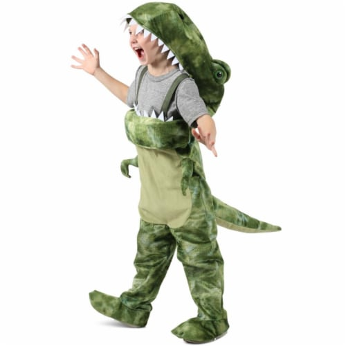 Princess 407696 Child People Eater Dino Costume - Medium Perspective: front