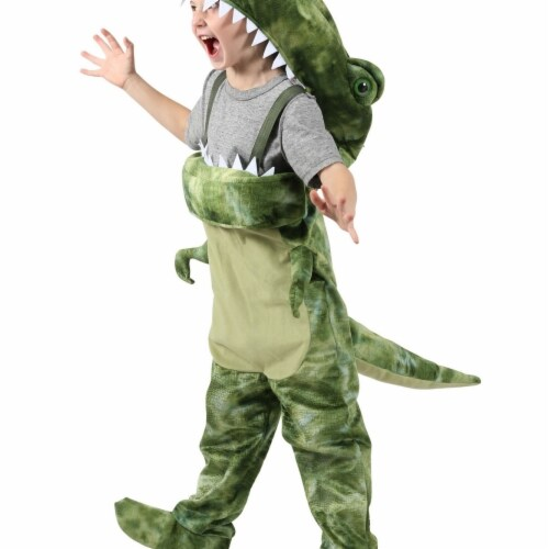 Princess 407697 Child People Eater Dino Costume - Small Perspective: front