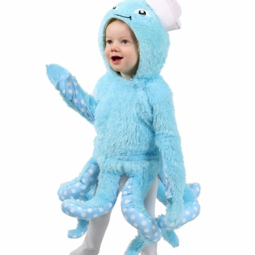 Princess 410012 Child Octopus Costume - Toddler Perspective: front