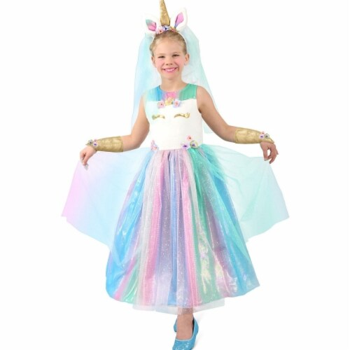 Princess 410081 Girls Lovely Lady Unicorn Child Costume - Extra Large Perspective: front
