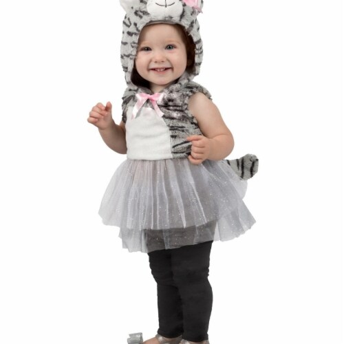 Princess 407596 Girls Katrina Kitty Child Costume - Extra Small Perspective: front