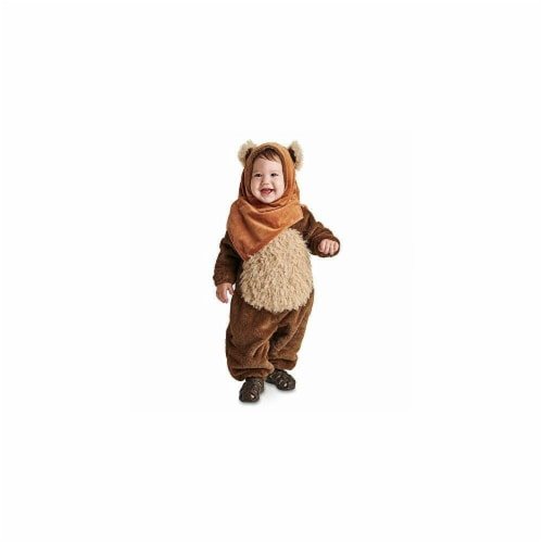 Princess Paradise 410145 Girls Star Wars Newborn Wicket Ewok Costume, NS3 Perspective: front