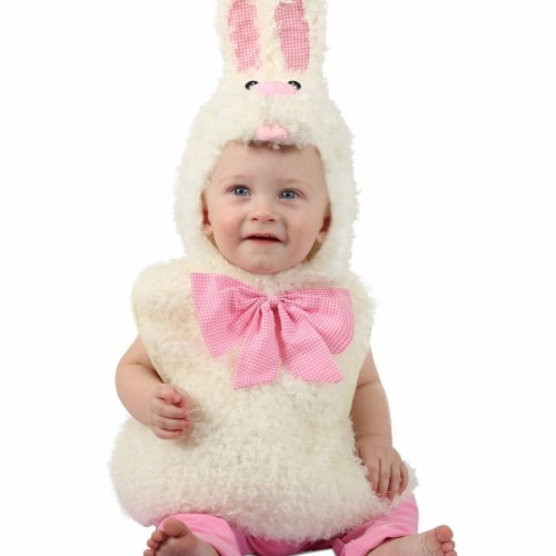 Princess 410088 Child Gingham Bunny Costume - Infant Perspective: front