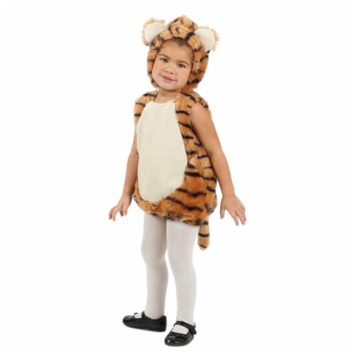 Princess 407591 Child Tiger Bubble Costume - Infant Perspective: front
