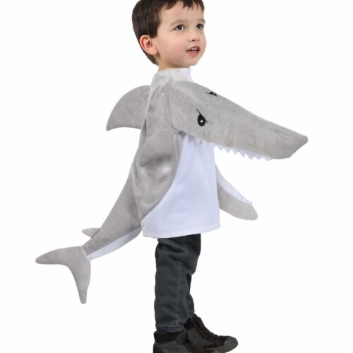 Princess 407599 Child Chompers Chompin Shark Jacket Costume - Small Perspective: front