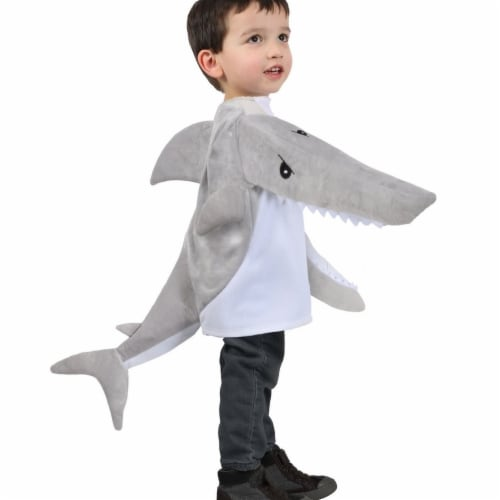 Princess 407600 Child Chompers Chompin Shark Jacket Costume - Extra Small Perspective: front